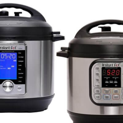 Instant Pot Ultra vs Duo Comparison